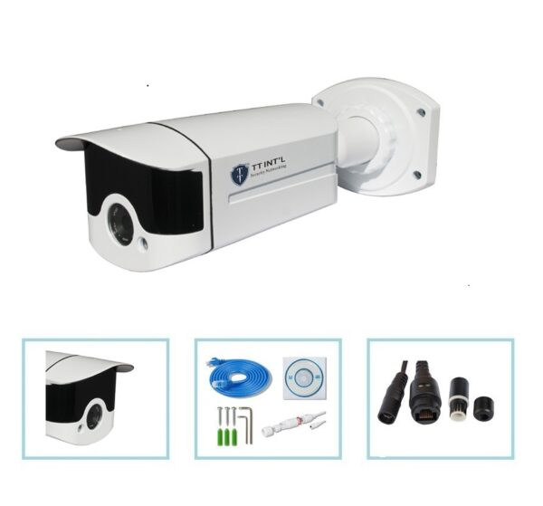 AI Intelligent Face Capture and Face Comparison IP Camera with Facial Recognition for Face Analysis Outdoor CCTV Camera